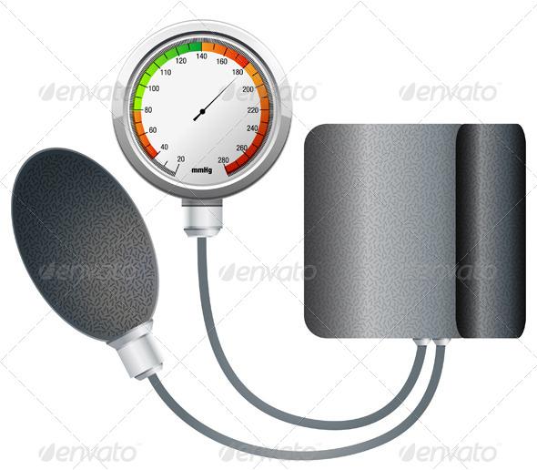 GraphicRiver Blood Pressure Monitoring 5802781