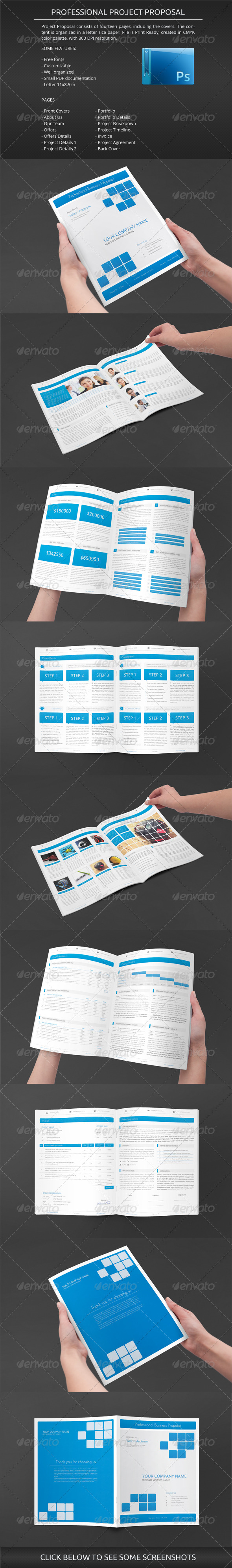 GraphicRiver Business Proposal 5732411