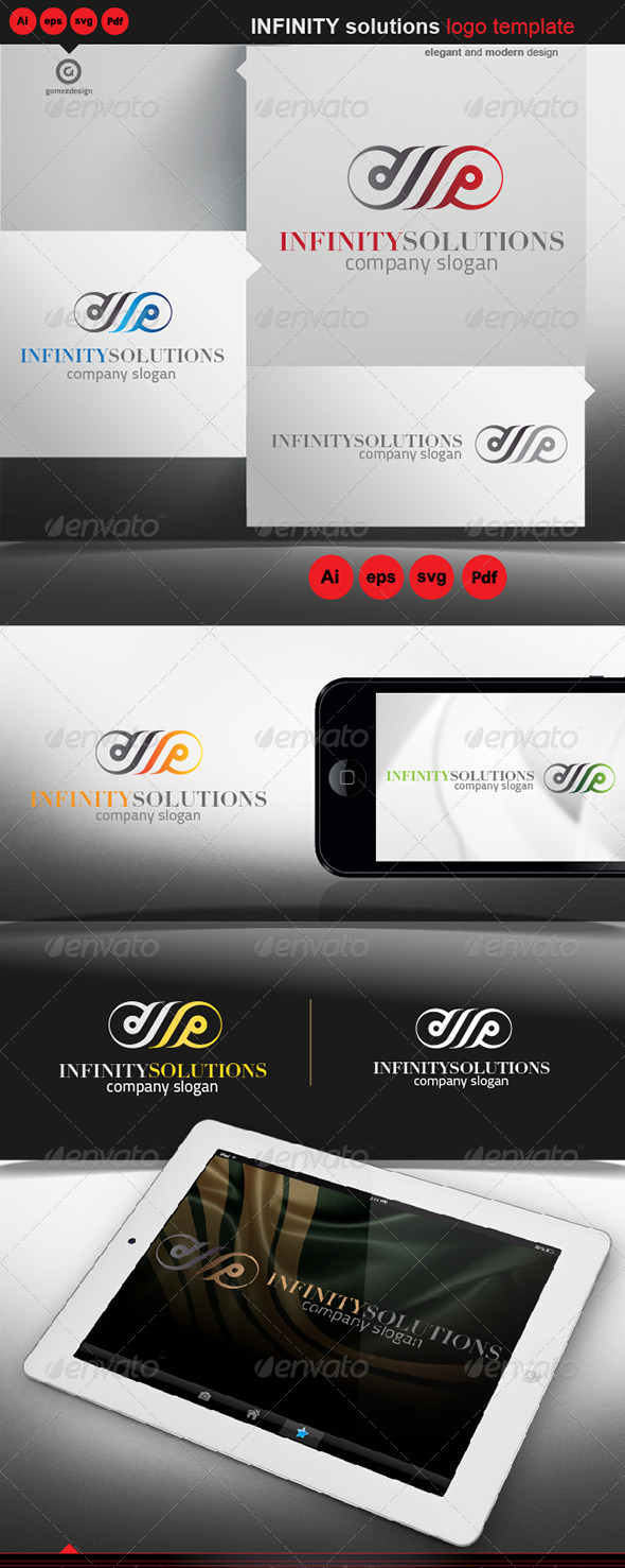 Infinity Solutions - Logo Templates
