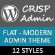 CrispAdmin - Modern Flat Admin Theme - CodeCanyon Item for Sale