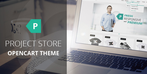 ThemeForest Project Store Responsive OpenCart Theme 5804697