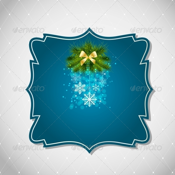 GraphicRiver Abstract Christmas and New Year Background 5804809