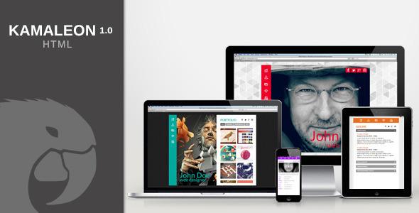 Kamaleon vCard – HTML (Virtual Business Card) images