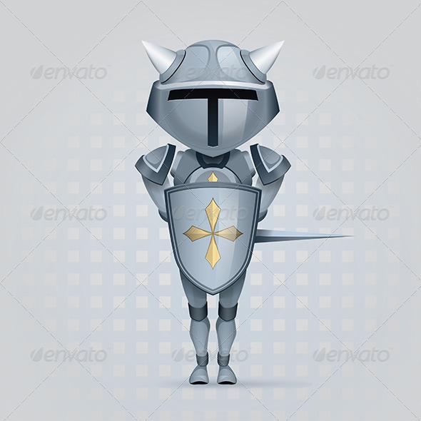 GraphicRiver Knight 5805712