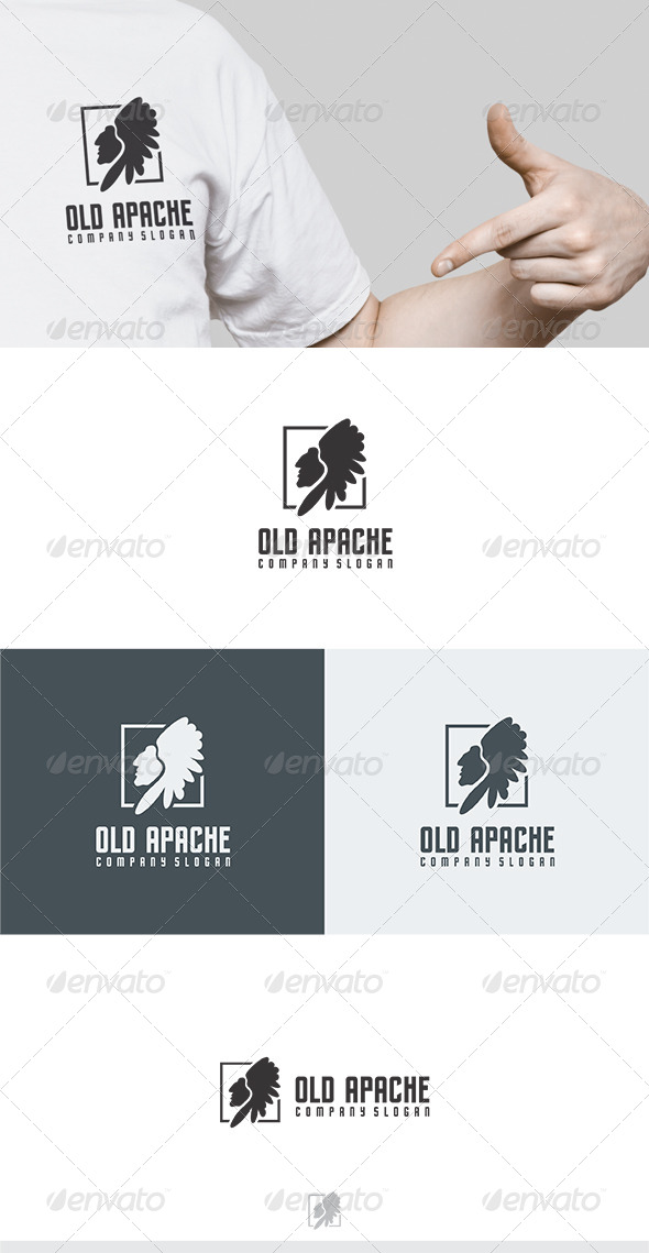 Old Apache Logo - Humans Logo Templates