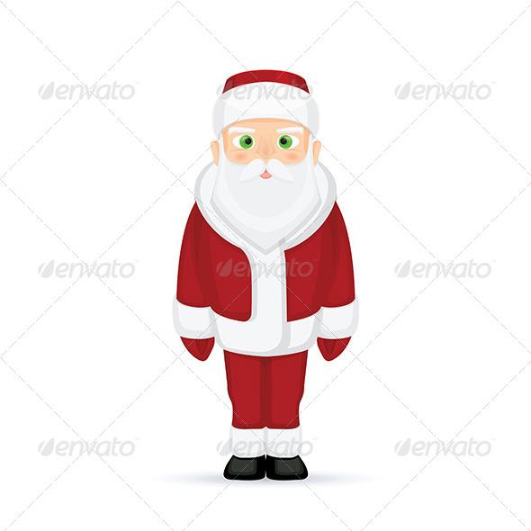 GraphicRiver Santa Claus 5805836