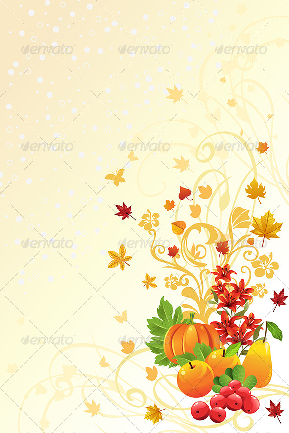 GraphicRiver Autumn or Fall Season Background 5805931