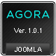 Agora :: Creative Joomla Template - ThemeForest Item for Sale