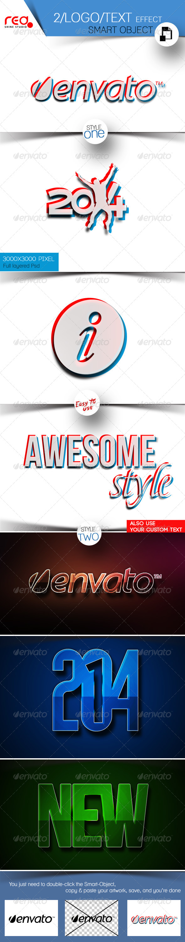GraphicRiver Logo & Text Effects 5806661