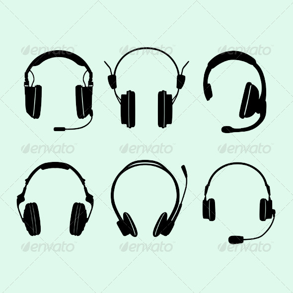 GraphicRiver Headphones 5807381