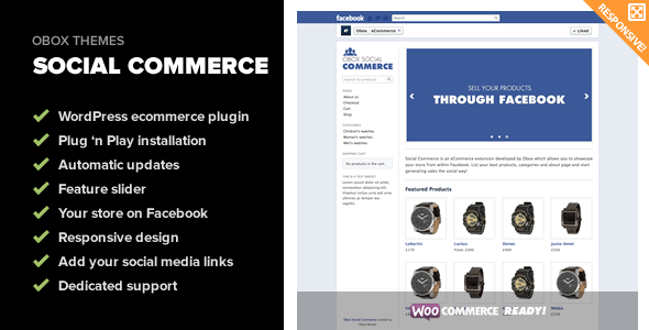 Social Commerce - WooCommerce Facebook Plugin - CodeCanyon Item for Sale
