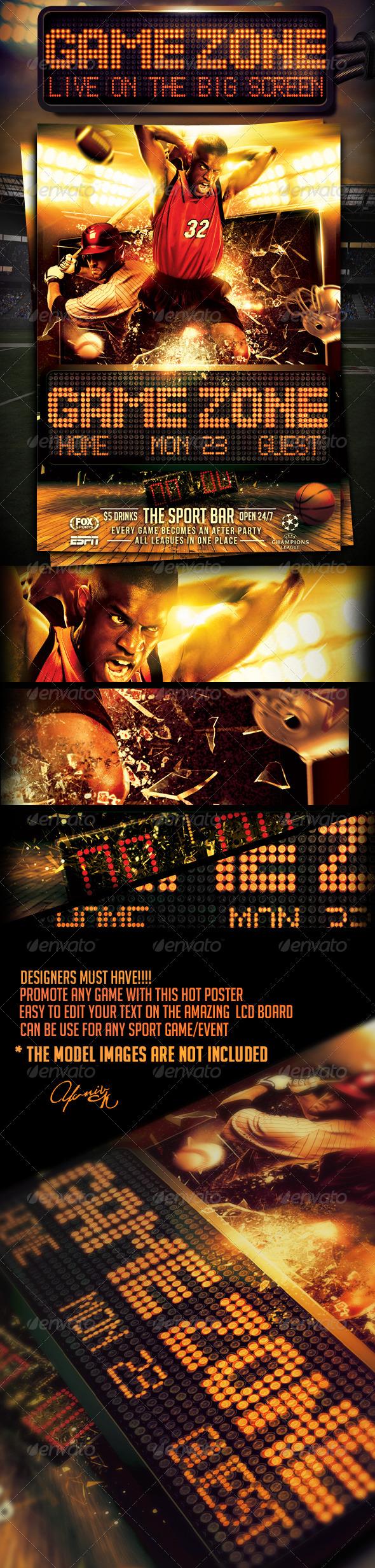 GraphicRiver Game Zone Poster 5807546