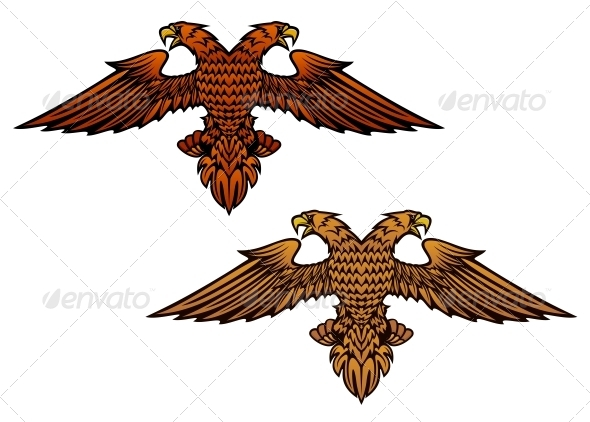GraphicRiver Double Headed Eagle 5807964