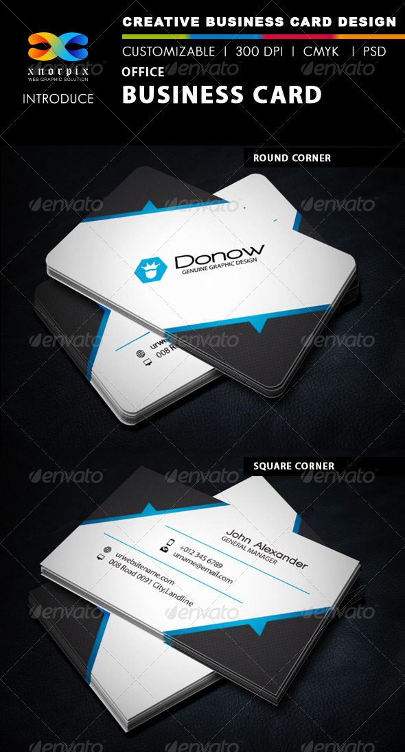 GraphicRiver Office Business Card 5808080
