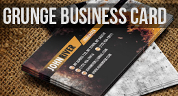 Grunge Business Card