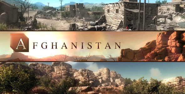 3DOcean Afghanistan Middle-East Environment 5808496