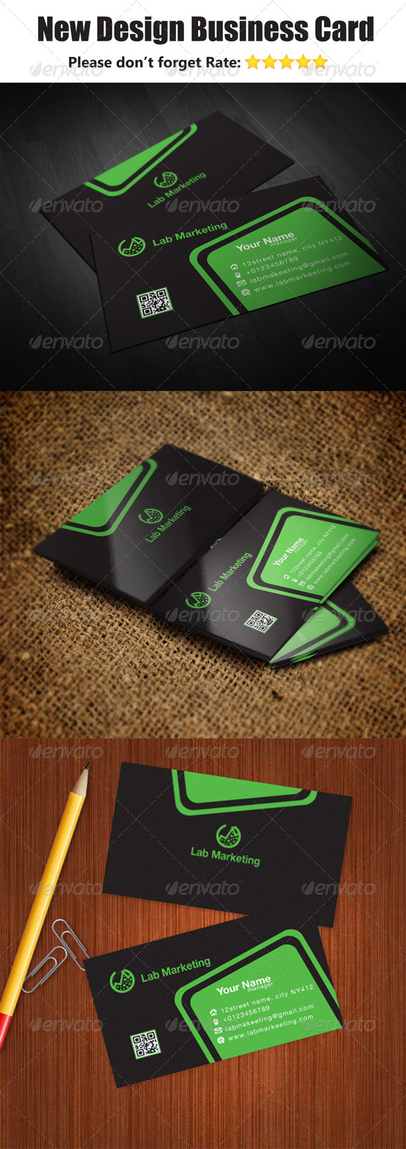 GraphicRiver New Design Business Card 5808689