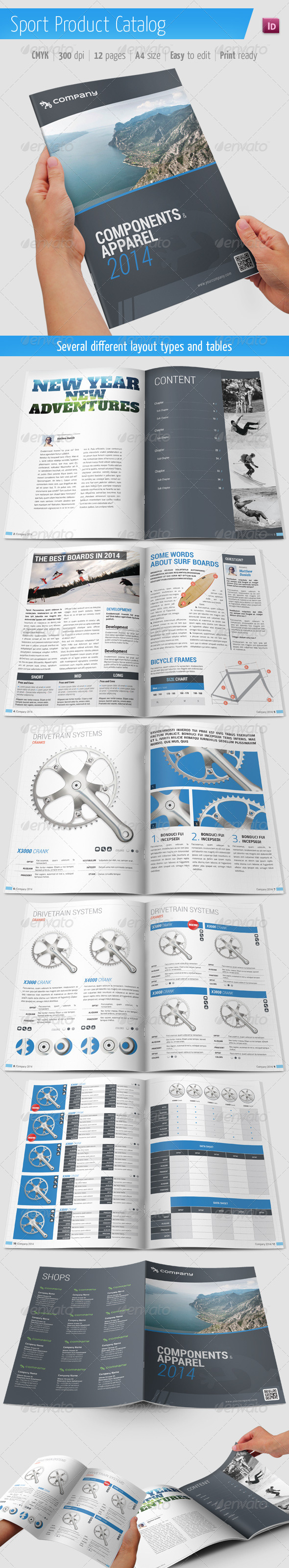 GraphicRiver Product Catalog Sport Brochure 5808946
