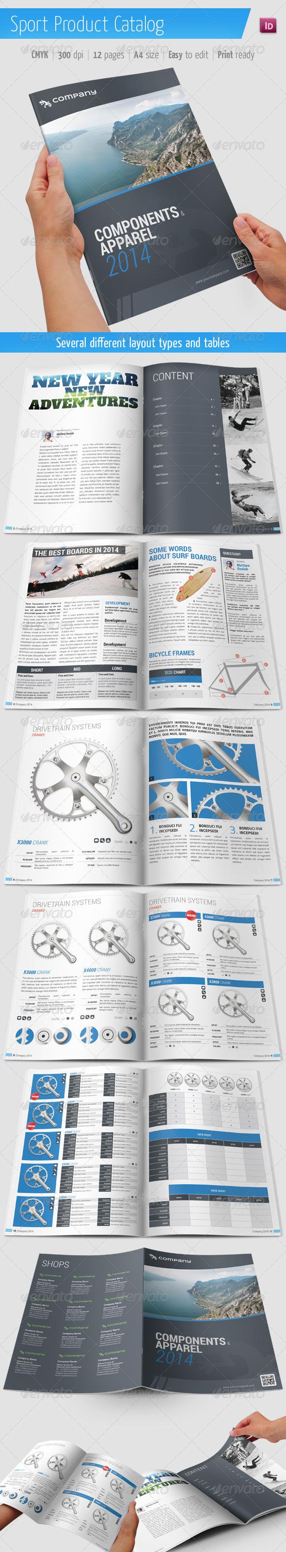 Product Catalog / Sport Brochure - Catalogs Brochures