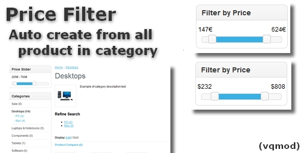 CodeCanyon Price Filter for OpenCart 5808969