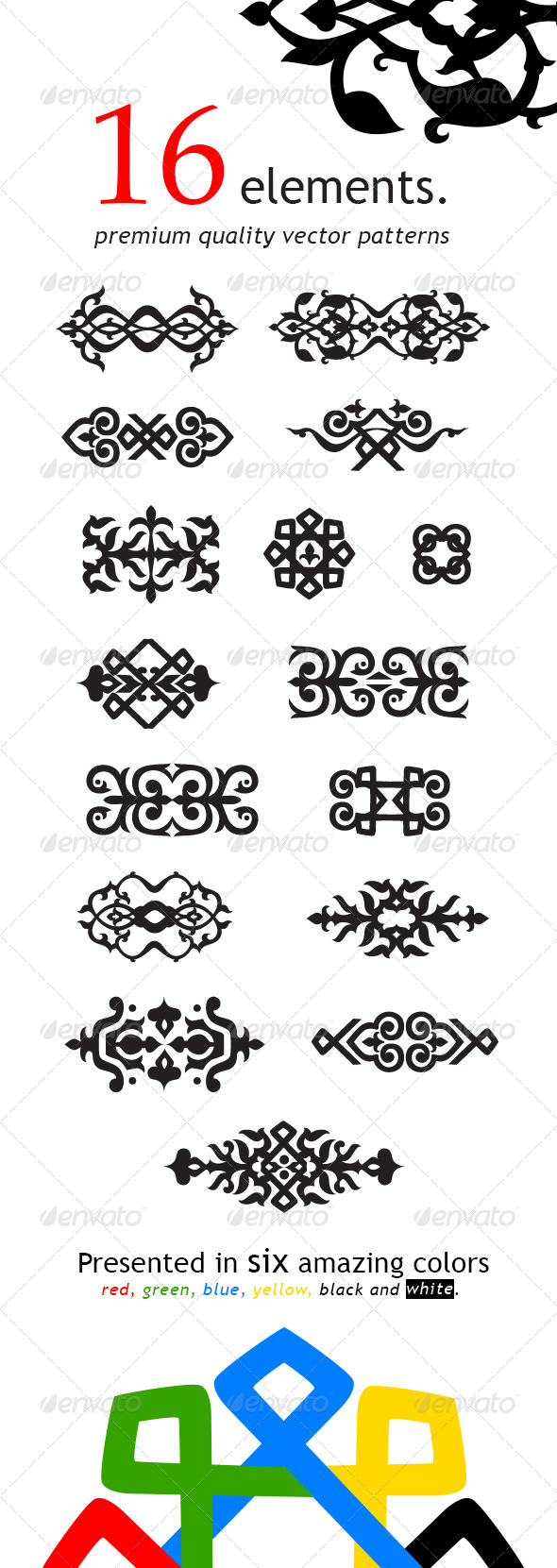 GraphicRiver Patterns 5810274