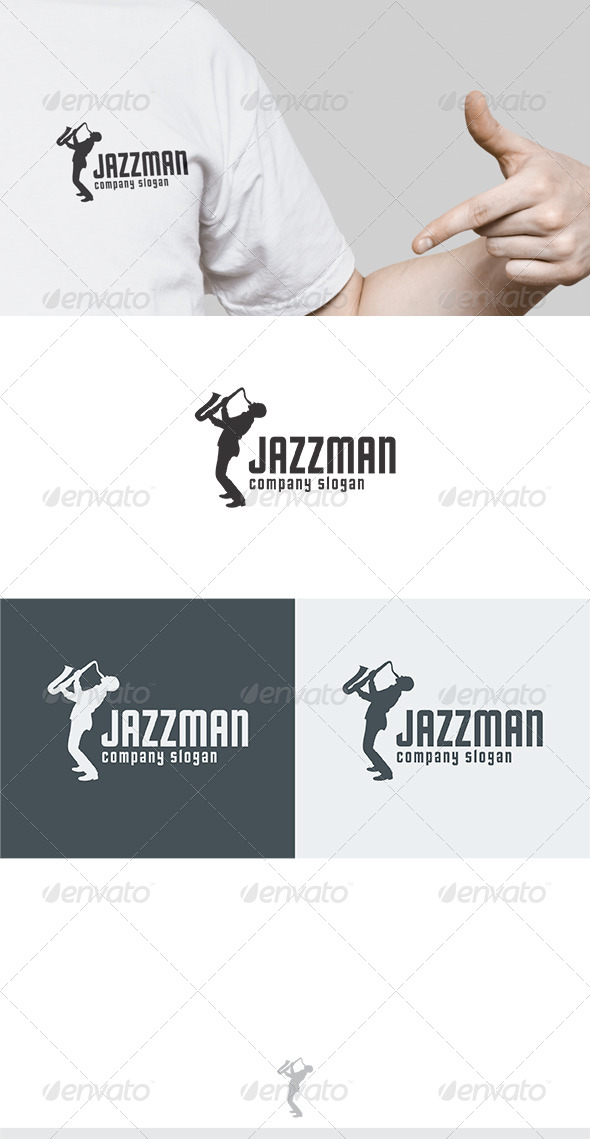 GraphicRiver Jazzman Logo 5811002