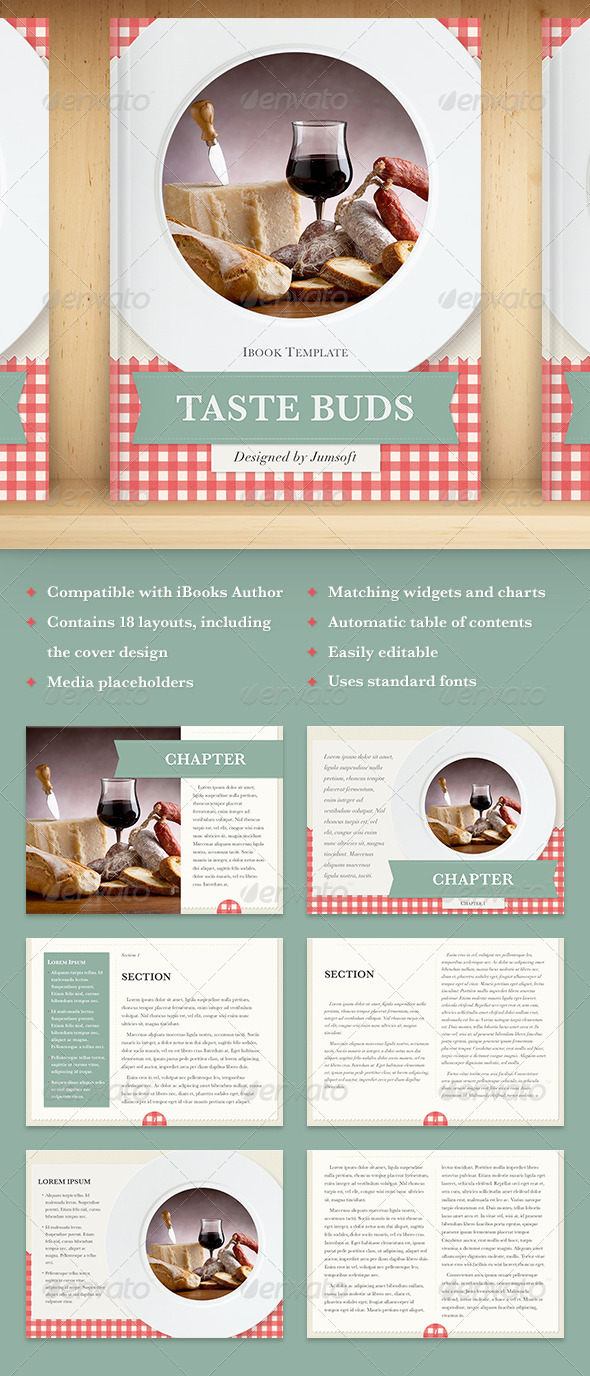 GraphicRiver Taste Buds 5811112