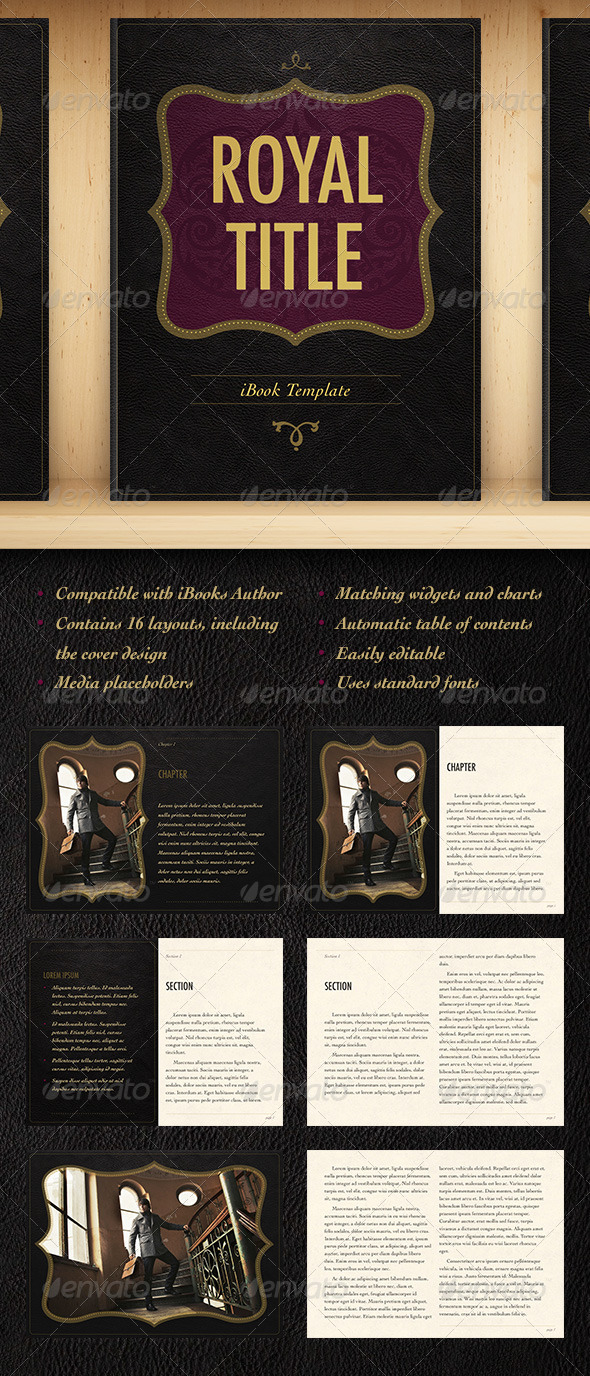 GraphicRiver Royal Title 5811123