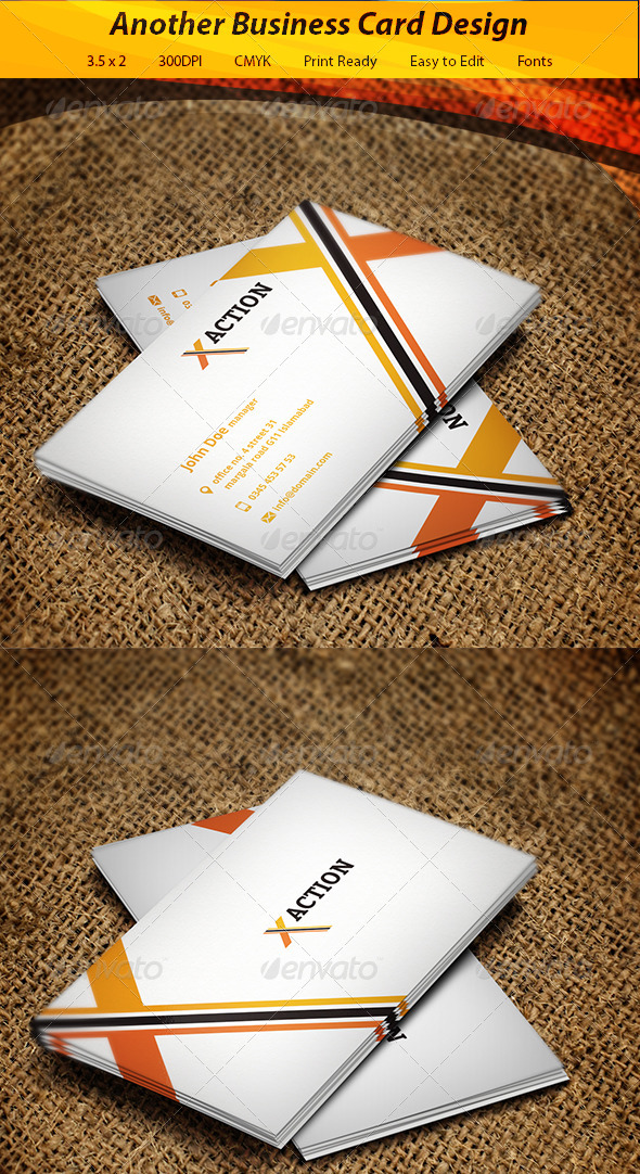 GraphicRiver Business Card 5811306