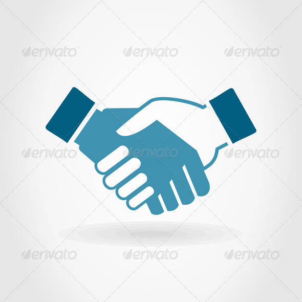 Hand shake - Stock Photo - Images