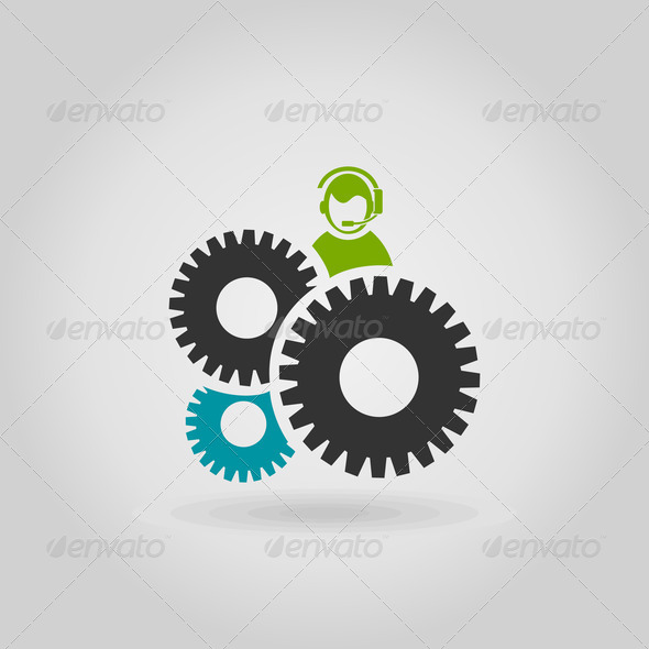 Gear wheel6 - Stock Photo - Images