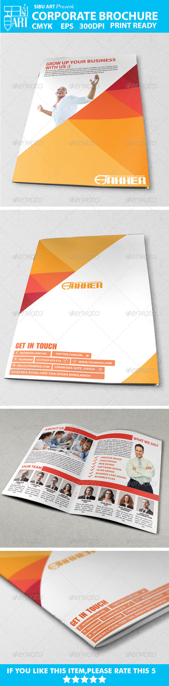 Corporate Brochures VOl-001