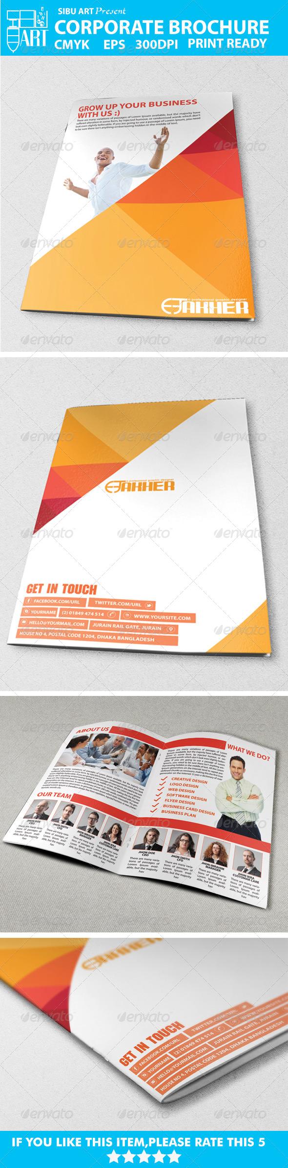 GraphicRiver Corporate Brochures VOl-001 5730963