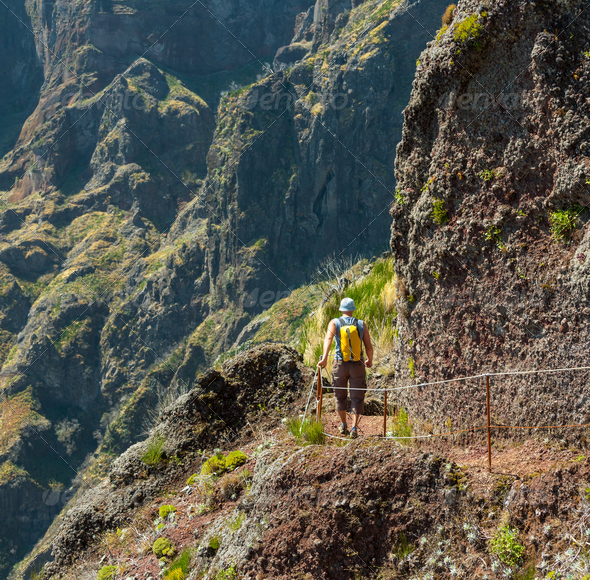 Mountains in Madeira - Stock Photo - Images