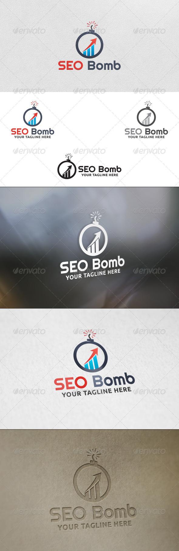 GraphicRiver SEO Bomb Logo Template 5812800