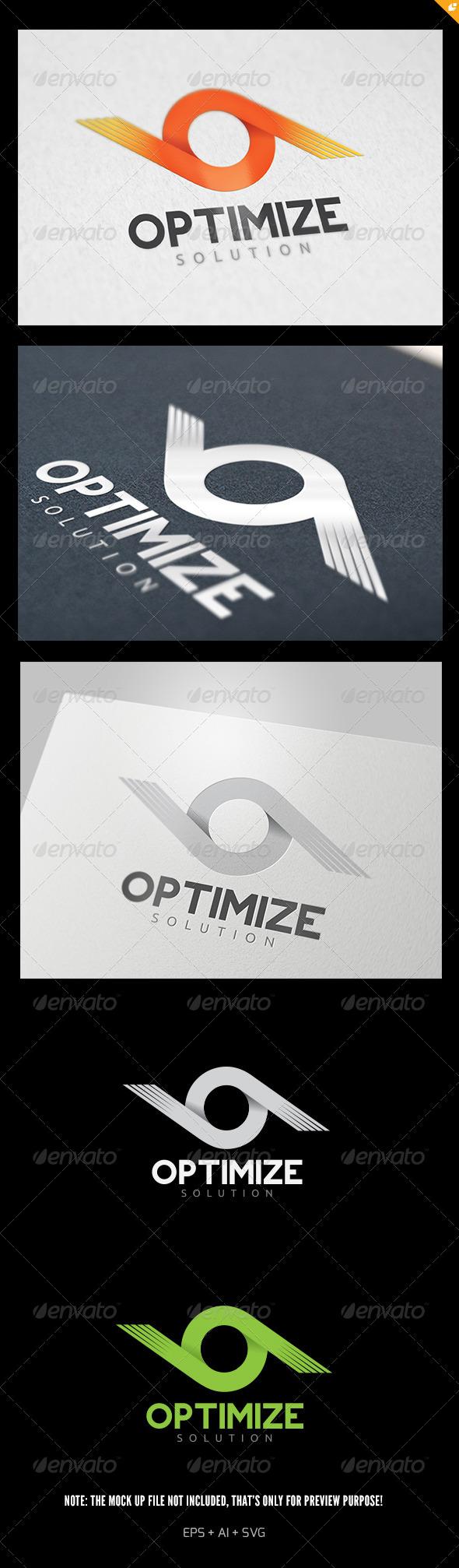 GraphicRiver Optimize Solution Logo 5812828
