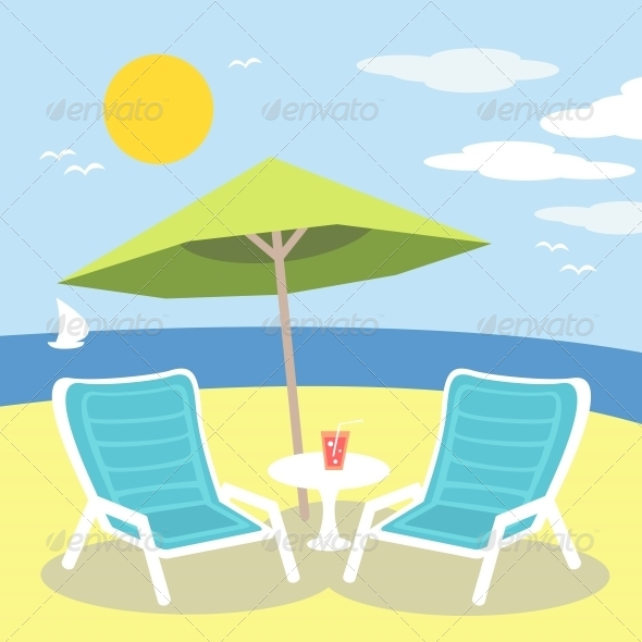 GraphicRiver Lounge Chairs 5814213