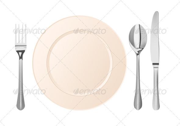 GraphicRiver Cutlery 5814402