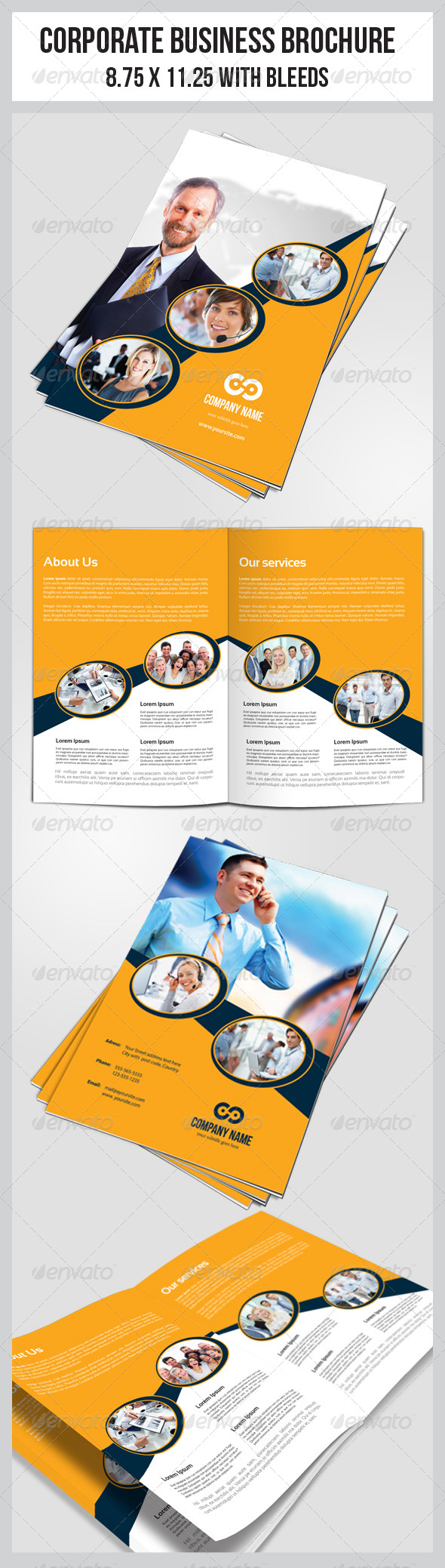 GraphicRiver Multipurpose Business Brochure Template 5814645
