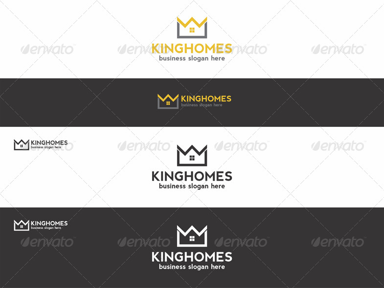 King Homes Estate Logo. Royal Property