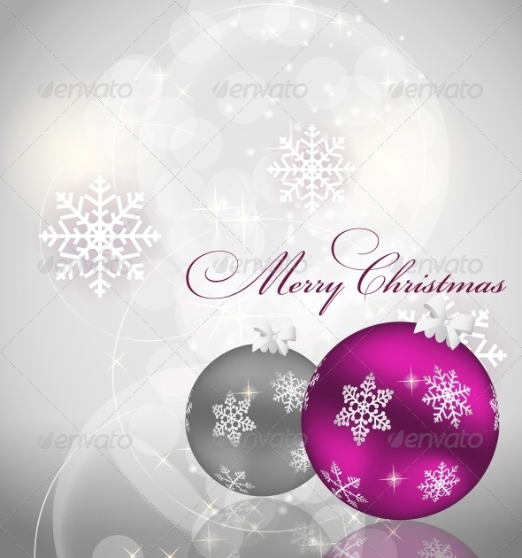 GraphicRiver Abstract Christmas and New Year Background 5814745