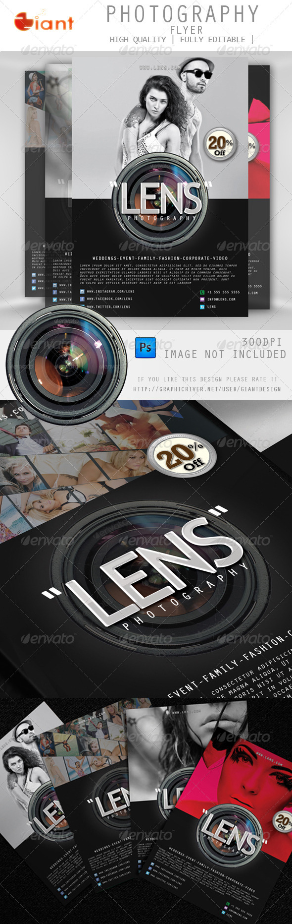 GraphicRiver Photography Flyer 5814967
