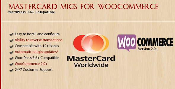 CodeCanyon MasterCard MIGS for WooCommerce 5815316