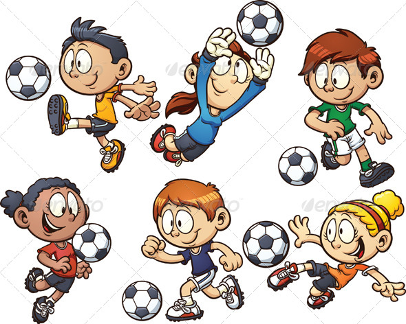 GraphicRiver Soccer Kids 5815476