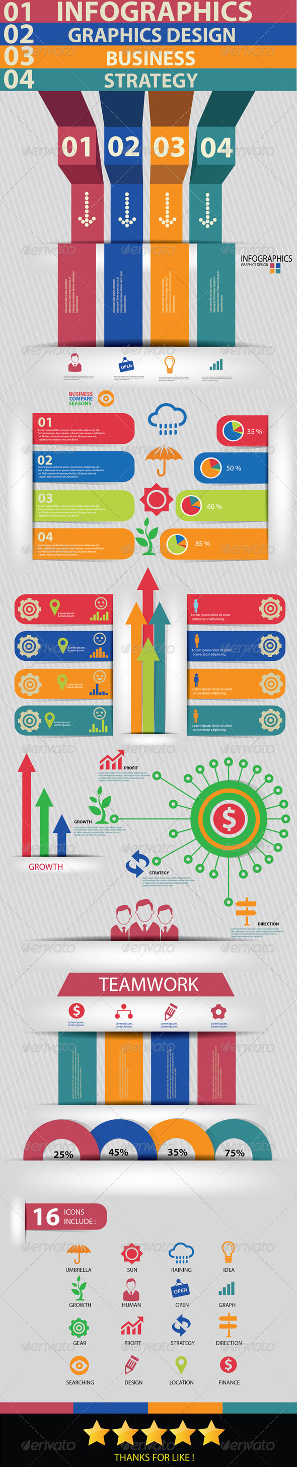 GraphicRiver Business Concept Infographics 5815524