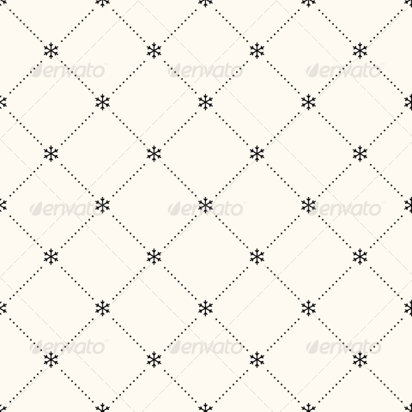 GraphicRiver Vector Seamless Winter Retro Pattern 5815643