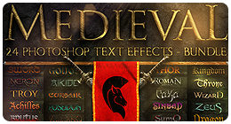 Medieval Photoshop Text Effects