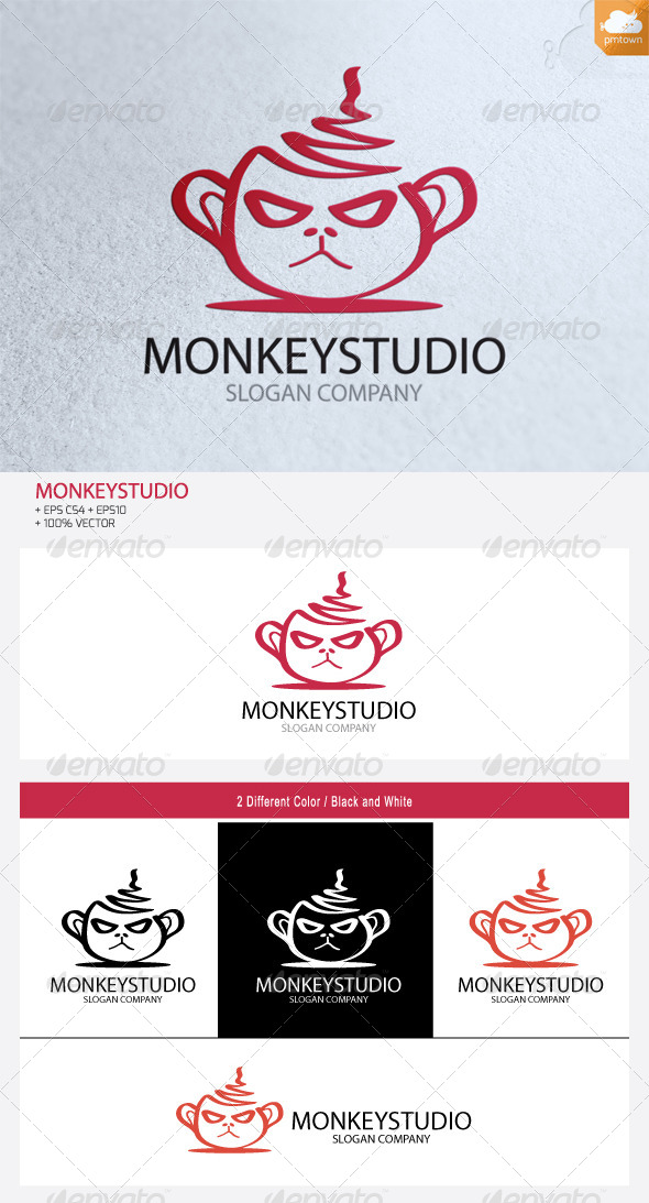 GraphicRiver MonkeyStudio logo 5815966