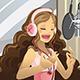 Singer in Recording Studio