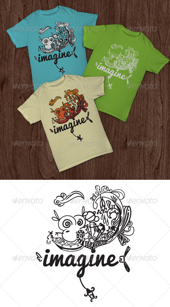 GraphicRiver Imagine T-Shirt 5816414